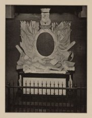 Praalgraf van de Admiraal Jan van Galen in de Nieuwe Kerk te Amsterdam
