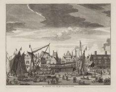De Groote Zee en Rivier-Vis-Markt