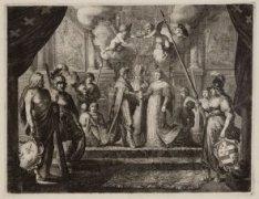 Het huwelijk van Hendrik IV met Maria de Medici