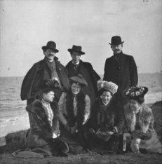 Componist Gustav Mahler (1860-1911), tijdens zijn bezoek aan Nederland op het Zu…
