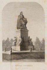 Vondels Standbeeld Te Amsterdam