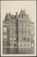 De achtergevel van het kantoor van de bankiersfirma Labouchère Oyens & Co. uit 1…