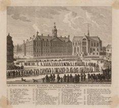 Lijk Statie van den Heere Michiel de Ruijter Hertog, Ridder, etc. Luytenant Admi…