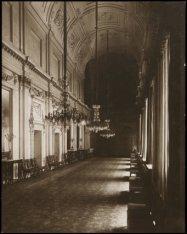 Het interieur van het Koninklijk Paleis, Dam 14. Galerij-F. De Grote Eetzaal