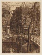 Herengracht gezien naar de Oude Spiegelstraat