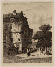 Enkele niet gelocaliseerde huizen in Amsterdam, mogelijk in de Jodenbuurt en wan…