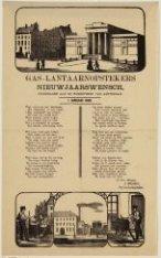 Gas-lantaarnopstekers Nieuwjaarswensch, opgedragen aan de ingezetenen van Amster…