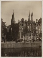 Korte Prinsengracht 3-11 (ged.) (v.l.n.r.), onderbroken door de Haarlemmer Houtt…