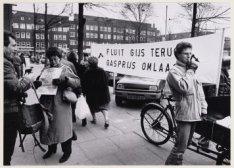 Protest tegen de gasprijzen