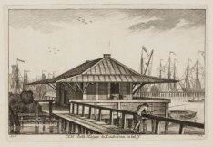Het Both Huijsje te Amsterdam in het IJ