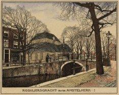 Reguliersgracht bij de Amstelkerk