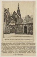 Ingang van het voormalig Zuiderkerkhof