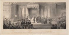 Inhuldiging van Z.M. als koning der der Nederlanden enz. enz. enz. In de Nieuwe …