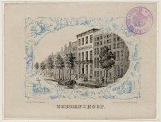 Gebouw Zeemanshoop aan de Buitenkant, na 1879 Prins Hendrikkade 140 (ged.)-149 (…