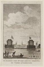 De Blokhuizen op den Amstel gebouwd, en weder afgebroken