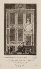 Afbeelding der Illuminatie voor het Huis van de Heer Jan Jacob de Bruyn ... etc