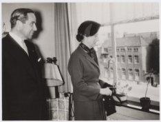 Bezoek koning Gustaaf Adolf en koningin Louise van Zweden
