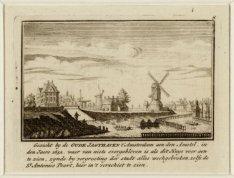 Gezicht by de Oude Jagthaven 't Amsterdam aen den Amstel, in den Jaere 1652