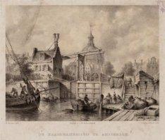 De Haarlemmersluis te Amsterdam