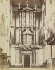 Het grote orgel in de Nieuwe Kerk