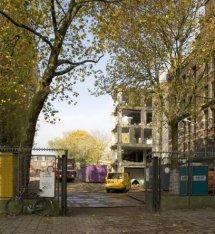 Amsteldijk 67, sloop Gemeentearchief Amsterdam
