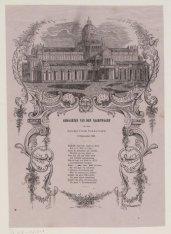 Gedachten van den Nachtwacht bij het Paleis voor Volksvlijt. 9 September 1861