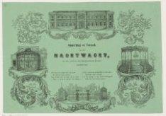 Kermiswensch van den Amsterdamschen Nachtwacht, September 1854; met vier afbeeld…