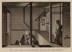 Het bad der Hoogduitsche Jooden, te Amsterdam
