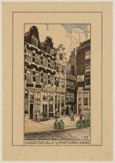 Oude Gevels aan de Prins Hendrikkade