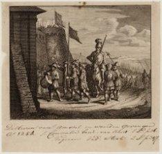 De Heeren van Amstel en Woerden gevangen