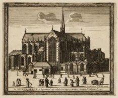De Nieuwe Kerck is begonnen Ao.1414 volbouwt en toegewyt de Maget Maria en St. C…