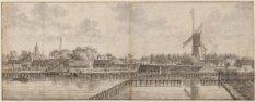 De Amstel buiten de Blauwbrug