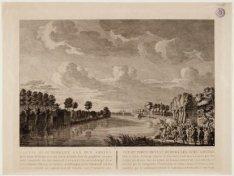 De Bullewijk tijdens een aanval bij Ouderkerk aan de Amstel, gezien in oostelijk…