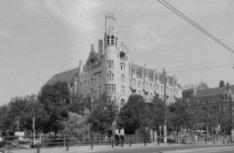 Leidseplein 28 hoek Leidsekade 97, American Hotel uit 1902 van architecten W. Kr…