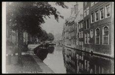 Nieuwezijds Voorburgwal 373, de achterzijde van Begijnhof gezien naar het noorde…