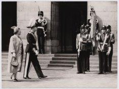 Bezoek koning Gustaaf van Zweden