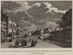 Gezicht der Portugeesche en Hoogduitsche Jooden-Synagogen, nevens het Feest der …