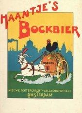 Affiche voor Haantje's Bockbier
