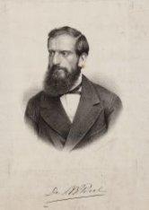 """L.B. Perel, lid der Kiezersvereeniging """"Burgerpligt"""" in Amsterdam 1887"""