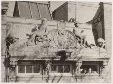 De gevel van het pand aan het Frederiksplein Frederiksplein 10