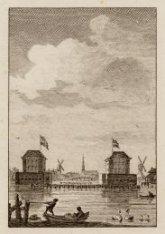 De Blokhuizen op den Amstel gebouwd en weder afgebroken