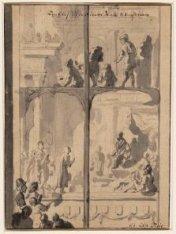 Een Glas in de Nieuwe Kerk te Amsterdam
