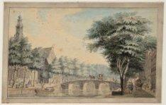 De Keizersgracht bij de Westermarkt