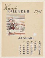 Kunstkalender 1941, Januari