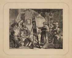 Das Atelier Rembrandt's