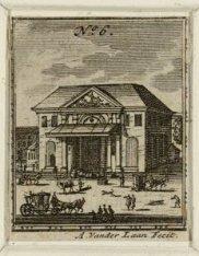 Het Waaggebouw of Regulierswaag, de voormalige derde Regulierspoort, op de Boter…
