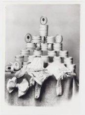 Lingeriemode en fournituren 1920 bij Hirsch & Cie, Leidseplein