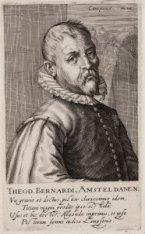 Portret van schilder Theodor Barendsz. Dirk Bernardi (1534-1592)