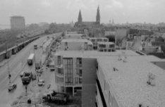 Panorama vanaf Haarlemmer Houttuinen 489 in oostelijke richting