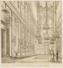Vue de l'intérieur de grand Salon du Palais Royal